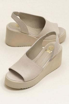 Elle SANDE Ecru Sandalet 20YCK20073