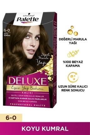Palette Deluxe 6-0 Koyu Kumral