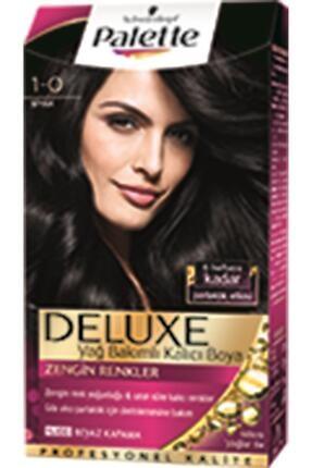 Palette Deluxe 1-0 Siyah Saç Boyası 50 ml