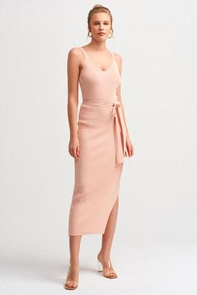 Dilvin Kadın Somon 2616 Askılı Elbise 101A02616