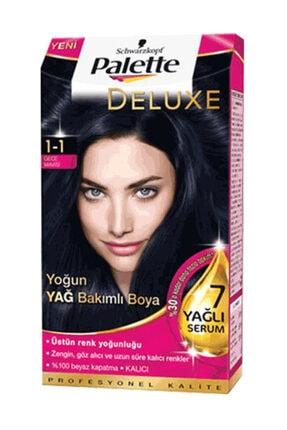 Palette Saç Boyası 1-1 gece Mavisi