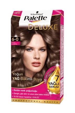 Palette Deluxe 6 0 Koyu Kumral Krem Saç Boyası