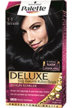 Palette Saç Boyası - Deluxe 1-1 Gece Mavisi 50 ml 8690572780855