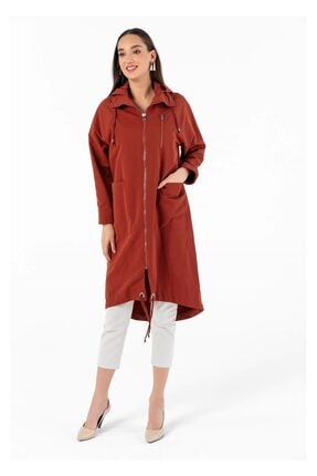 Tiffany Kadın Tarçın Reglan Kol Siena Yağmurluk K20137
