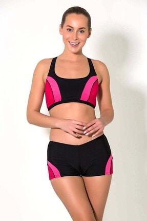 CAMASIRCITY 2809-1 Body Şortlu Bikini Takım Siyah