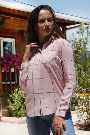 Bigdart Kadın Tek Cepli Gömlek 3639