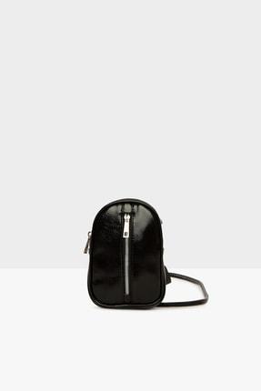 Bagmori Siyah Kadın Mini Askılı Ve Bel Çantası M000004734