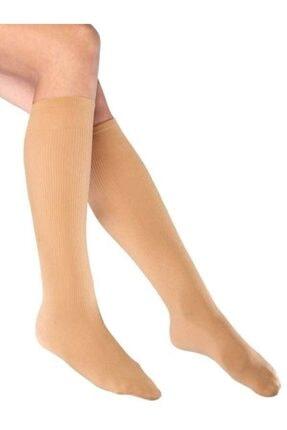 Mite Love Fitilli Diz Altı Ten Rengi Çorap