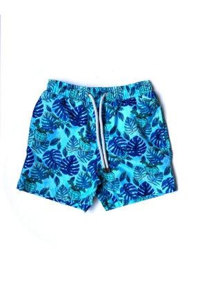 Katia Bony Blue Palm Erkek Çocuk Mayo Şort - Mıx