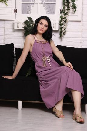 Eflatun Kadın Elbise