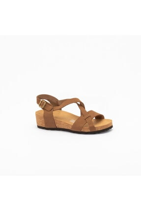 Frau Kadın Kahverengi  Günlük Ayakkabı 6051 Nabuk-v Sabbıa