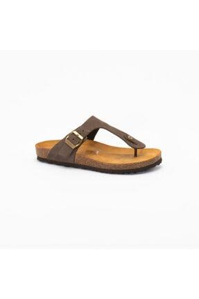 Frau Kadın Kahverengi Günlük Ayakkabı 5851 Nabuk-v T.moro