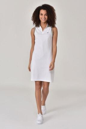 Bilcee Beyaz Kadın Elbise Gs-8079