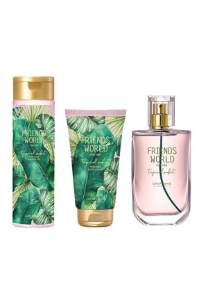Oriflame Friends World For Her Tropical Sorbet 50 Ml. Bayan Set