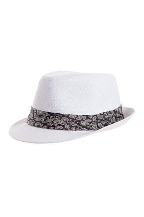 Forum Fashion Hs-01 Hasır Fötr Şapka-beyaz
