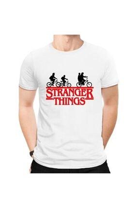 Köstebek Stranger Things - Bicycle Children Unisex Tişört