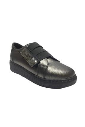 Pandora Kadın Gri Taşlı Casual Ayakkabı