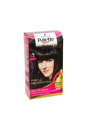 Palette Deluxe Siyah Saç Boyası