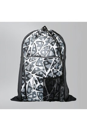 Speedo Unisex Siyah-Beyaz 35 lt File Sırt Çantası  Deluxe Ventilator