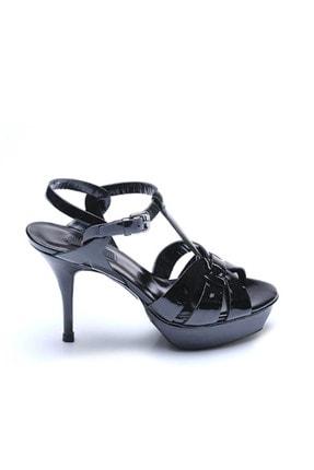 Rouge Sıyah Rugan Kadın Klasik Ayakkabı  201Rgk720 666-302