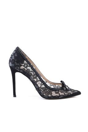 Rouge Siyah Kadın Klasik Ayakkabı  201Rgk720 2536-80
