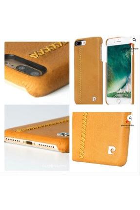 Iphone (7plus / 8plus) Örgü Desenli Deri Arka Kapak Taba Renk SLHPCTR