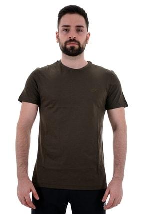 Lotto T-shirt Erkek Haki-soft Tee Pl Iı-r8890