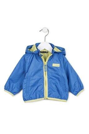Losan Unisex Bebek Mavi Yağmurluk