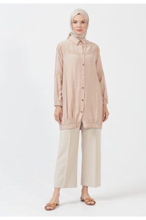 Setrms Kadın Bej Tunik Elbise
