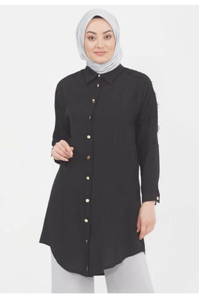 Setrms Kadın Siyah Tunik Elbise