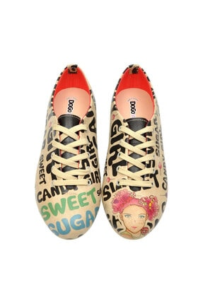 Dogo Kadın Bej Sweet Sugar Oxford Ayakkabı