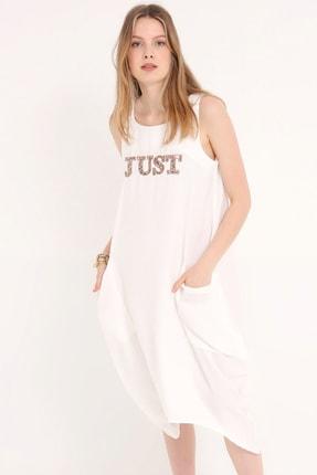 Home Store Kadın Beyaz Elbise 20230006223