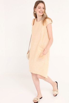 Home Store Kadın Sarı Elbise 20240006103