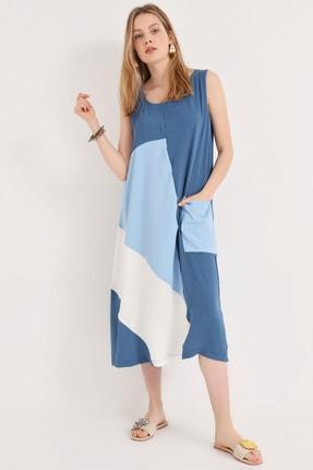 Home Store Kadın Indıgo Elbise 20240006075