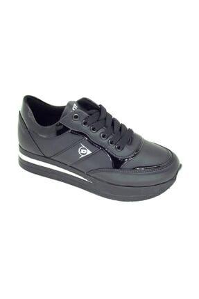 Dunlop Kadın Siyah Yüksek Taban Spor Ayakkabı 112105