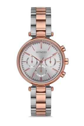 Homies Kadın Rose Gold Kol Saati