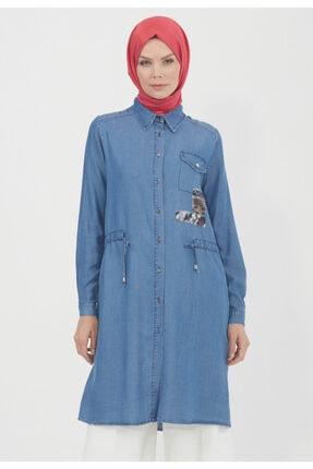 Setrms Kadın İndigo Mavi Tunik