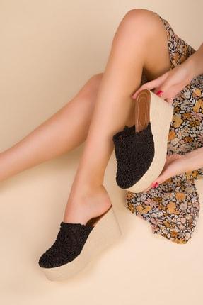 SOHO Siyah Kadın Dolgu Topuklu Ayakkabı 15181