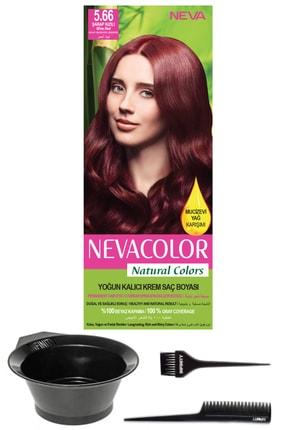 Neva Color Natural Colors 5.66 Şarap Kızılı