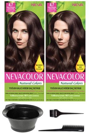 Neva Color 2'li Natural Colors 4.7 Türk Kahvesi