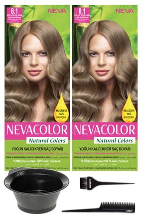 Neva Color 2'li Natural Colors 8.1 Küllü Açık Sarı