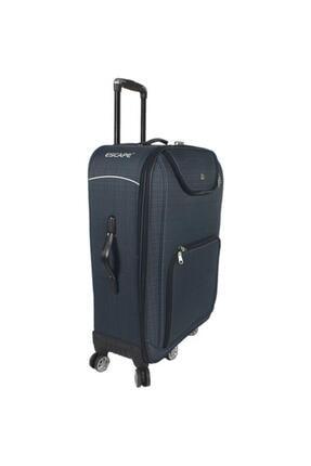 Escape  5 Tekerlekli Büyük Boy Bavul Lacivert