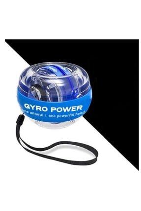 Vision Autostart Çantalı Multilight Powerball Bilek Egzersiz Topu Mavi