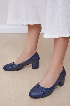 Shoes Time Kadın Lacivert Günlük Ayakkabı 19k122