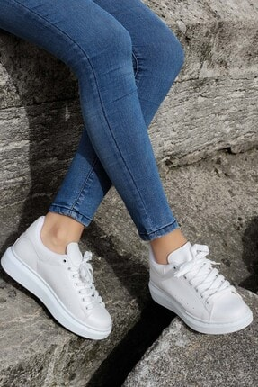 Fast Step Beyaz Kadın Sneaker Ayakkabı 928ZA102