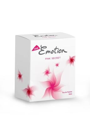 Emotion Pink Secret Edt 50 ml Kadın Parfümü 8690586017015