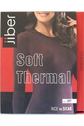 Jiber Kadın Soft Thermal Üst Içlik