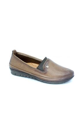 Scavia Kadın Kahverengi Hakiki Deri Ayakkabı