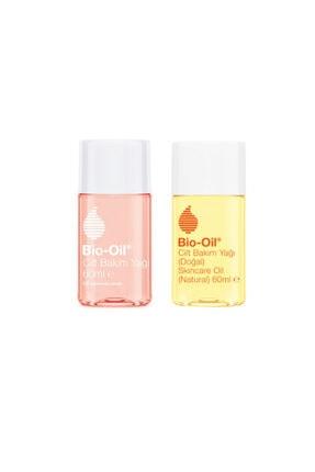 Bio Oil Natural Cilt Bakım Yağı 60 ml + Cilt Bakım Yağı 60 ml 2'li Set