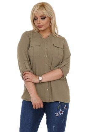 Rmg Kadın Haki Gömlek